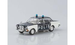 Volvo 164 Полиция Швеции, журнальная серия Полицейские машины мира (DeAgostini), Полицейские машины мира, Deagostini, scale43