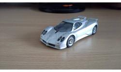 Pagani Zonda C12F, масштабная модель, Суперкары. Лучшие автомобили мира, журнал от DeAgostini, 1:43, 1/43