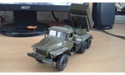 Урал-4320 БМ-21 'Град', масштабная модель, Элекон, scale43