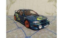 Subaru Impreza WRC'98 собранная Tamiya, масштабная модель, 1:24, 1/24