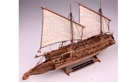 Канонерский ИОЛ масштаб 1:72 MK0202, сборные модели кораблей, флота, scale72, Master Korabel