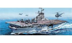 Авианосец USS ANTIETAM CV-36 масштаб 1:700, сборные модели кораблей, флота, Dragon