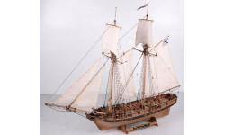 Шхуна Полоцк масштаб 1:72 Plus, сборные модели кораблей, флота, scale72, Master Korabel