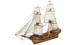 Бригантина Феникс масштаб 1:72, сборные модели кораблей, флота, scale72, Master Korabel