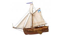 Бот Святой Гавриил масштаб 1:72, сборные модели кораблей, флота, 1/72, Master Korabel