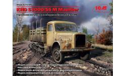 KHD S3000/SS M Maultier, полугусеничный грузовик масштаб 1:35 ICM35453, сборные модели бронетехники, танков, бтт, 1/35