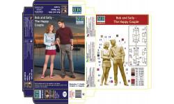 Боб и Салли - Счастливая пара. масштаб 1:24 MB24029, миниатюры, фигуры, 1/24, ICM