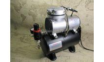 JAS1203 Компрессор воздушный с ресивером 3л, автоматика, регулятор давления ( 1203 ), инструменты для моделизма, расходные материалы для моделизма