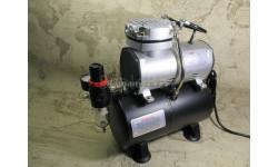 JAS1203 Компрессор воздушный с ресивером 3л, автоматика, регулятор давления
