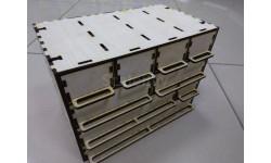 Органайзер для мелочи с регулируемыми ящиками вер.1