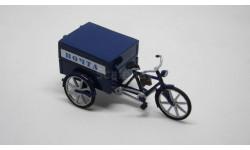 Велосипед 'Почта', масштабная модель мотоцикла, 1:43, 1/43, Артель Универсал