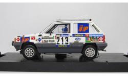 FIAT PANDA 4X4 N 213 RALLY PARIS DAKAR 1984 GIRAUDO - CONTEGIACOMO