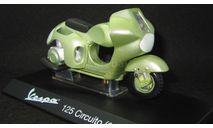Мотороллер PIAGGIO Vespa  125 CIRCUITO 1950 1:18, масштабная модель мотоцикла, scale18