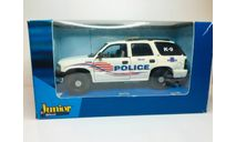 Chvrolet Tahoe Washington Police K-9 Unit (Cararama/Custom 1:43), масштабная модель, Chevrolet, Bauer/Cararama/Hongwell, 1/43