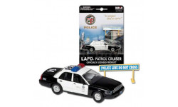 FORD Crown Victoria LAPD (Realtoy 1:43), масштабная модель, 1/43