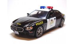 MASERATI Quattroporte Ontario Provincial Police [O.P.P.] 2008 (IXO 1:43), масштабная модель, IXO Road (серии MOC, CLC), scale43