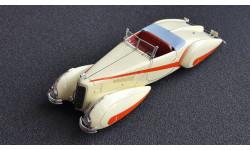 Cadillac V16 Harttmann Roadster, масштабная модель, True Scale Miniatures, scale43