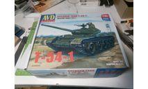 Танк Т-54-1, сборные модели бронетехники, танков, бтт, AVD Models, scale43