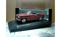 Borgward Isabella Cabriolet '1959 / Minichamps 1:43