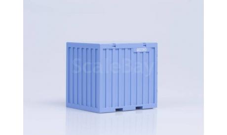 Контейнер 5 т, голубой (62x50x56), сборная модель автомобиля, 1:43, 1/43, AVD Models