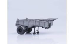 Функциональный самосвальный полуприцеп МАЗ-5232В, масштабная модель, 1:43, 1/43, Автоистория (АИСТ)