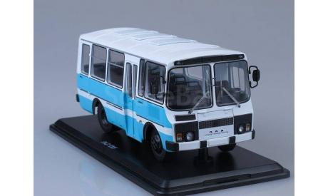 ПАЗ-3205 пригородный, масштабная модель, scale43, Start Scale Models (SSM)