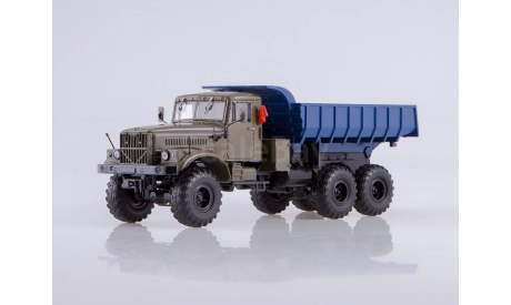 КРАЗ-255Б 6x6 самосвал, масштабная модель, Автоистория (АИСТ), scale43