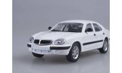 ГАЗ 3111 (белый), масштабная модель, 1:43, 1/43, Автоистория (АИСТ)