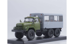 ЗИЛ-131 вахтовый автобус (хаки-серый)