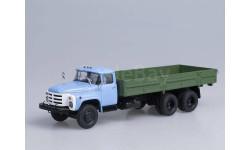ЗИЛ-133ГЯ бортовой (голубой/зеленый)
