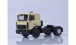 МАЗ-5432 (поздняя кабина, бежевый), масштабная модель, 1:43, 1/43, Автоистория (АИСТ)
