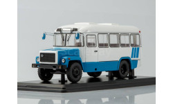 КАвЗ-3976 (бело-голубой), масштабная модель, 1:43, 1/43, Start Scale Models (SSM)