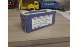 Коробка ЗАЗ Запорожец завод Прогресс, масштабная модель, 1:43, 1/43, Fiat