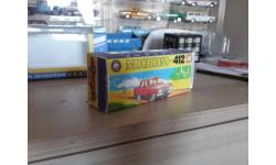 коробка Москвич 412 А1