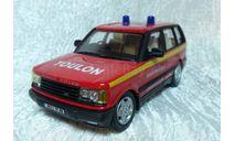 Range Rover пожарный, масштабная модель, scale43