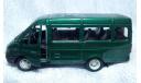 ГАЗель зеленая, масштабная модель, 1:43, 1/43, Autotime Collection