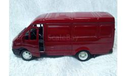ГАЗель красная, масштабная модель, 1:43, 1/43, Autotime Collection
