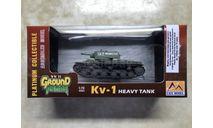Танк КВ-1, масштабные модели бронетехники, Easy Model, 1:72, 1/72