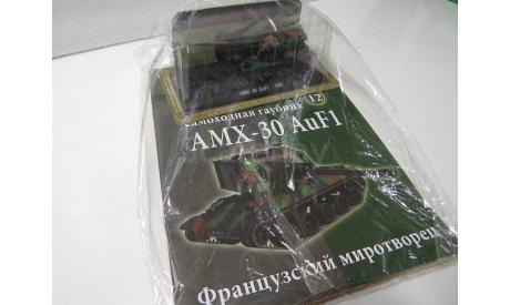 AMX-30 AuF 1, масштабные модели бронетехники, Hachette, scale72