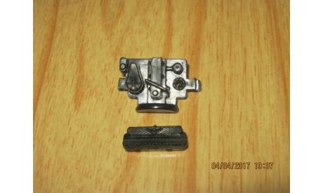 Мотор и решётка радиатора для Уаз 469 чёрный, запчасти для масштабных моделей, 1:43, 1/43