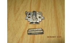 Мотор и решётка радиатора для Уаз 469 хром, запчасти для масштабных моделей, 1:43, 1/43