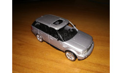 Rangr rover sport, масштабная модель, scale43