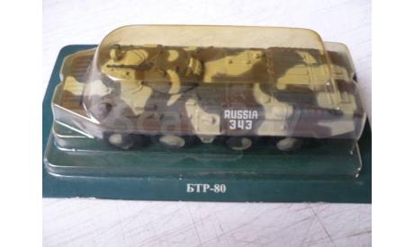 БТР - 80 KFOR, журнальная серия Русские танки (GeFabbri) 1:72, scale72, Бронетранспортёр