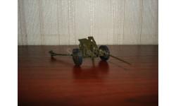 пушка 45 мм образца 1943 г, масштабная модель, сергеев, 1:43, 1/43