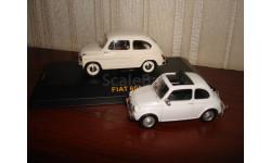ФИАТ-600 и ФИАТ-600 Д, масштабная модель, scale43, IXO CARARAMA, Fiat