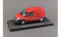 !!! РАСПРОДАЖА !!! 1:43 — Mercedes-Benz Citan panel red — !!! БЕСПЛАТНАЯ ДОСТАВКА !!!