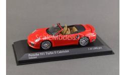 !!! РАСПРОДАЖА !!! 1:43 — Porsche 911 Turbo S Cabriolet (2013)  — !!! БЕСПЛАТНАЯ ДОСТАВКА !!!, масштабная модель, Minichamps, scale43