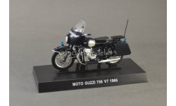1:24 — Moto Guzzi 750 V7, масштабная модель, Altaya, scale24