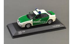 SALE / ЛИКВИДАЦИЯ 1:43 Alfa Romeo 156 Polizei, масштабная модель, Minichamps