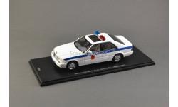 1:43 Mercedes-Benz S500 (short) W140 Милиция Москва, масштабная модель, Spark